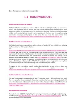 RoSPA Homeword newsletter June 2020