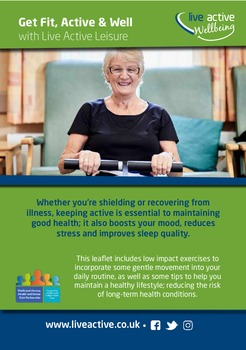 Advice on staying healthy and active from Perth and Kinross Health and Social Care Partnership